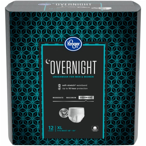 Kroger® Overnight Underwear for Women and Men XL Perspective: front