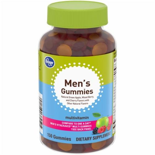 Kroger® Men's Multivitamin Gummies Perspective: front