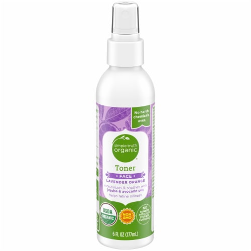 Simple Truth Organic™ Lavender Orange Face Toner Perspective: front