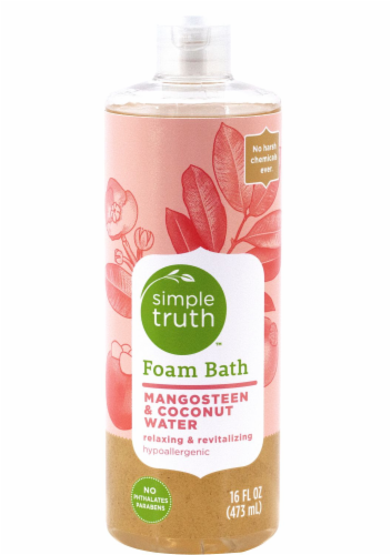 Simple Truth™ Mangosteen & Coconut Water Foam Bath Perspective: front
