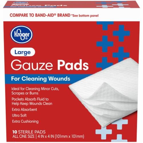 Kroger® Large Gauze Pads Perspective: front