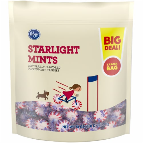 Kroger® Peppermint Starlight Mints Perspective: front