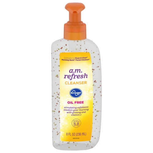 Kroger® Care Cleanse Morning Refresh Facial Cleanser Perspective: front