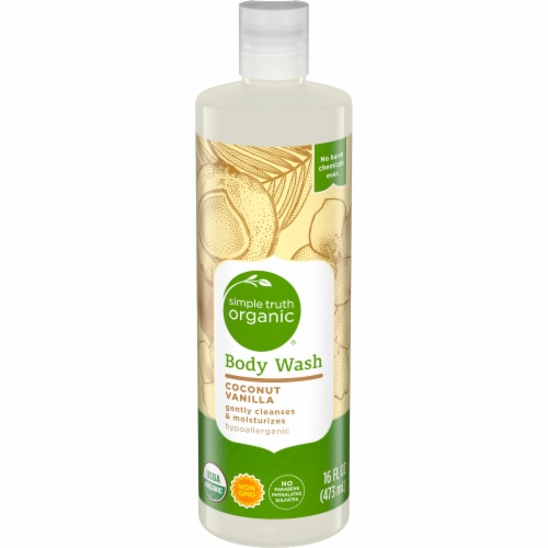 Simple Truth Organic™ Coconut Vanilla Body Wash Perspective: front