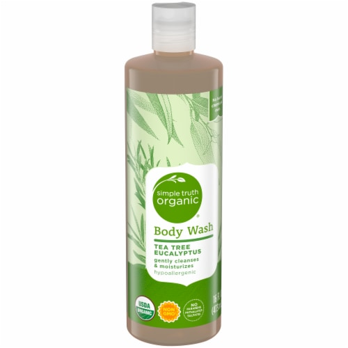 Simple Truth Organic® Tea Tree Eucalyptus Body Wash Perspective: front