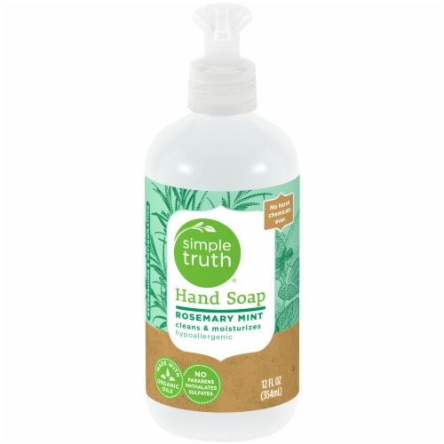 Simple Truth™ Rosemary Mint Hand Soap Pump Perspective: front