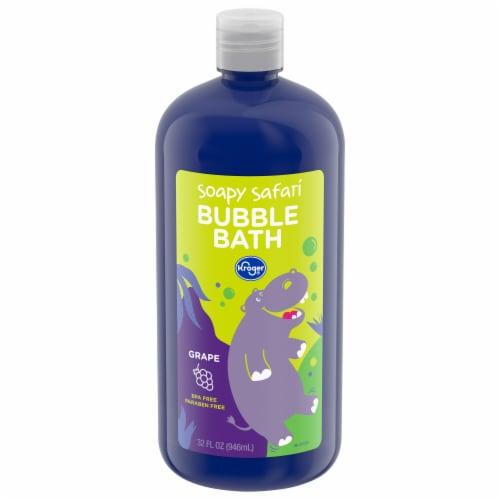 Kroger® Soapy Safari Grape Scented Bubble Bath Perspective: front