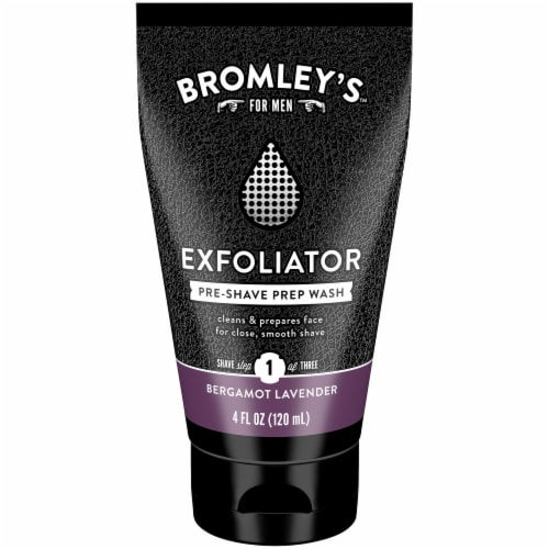 Bromley's™ For Men Bergamot Lavender Pre-Shave Prep Wash Perspective: front
