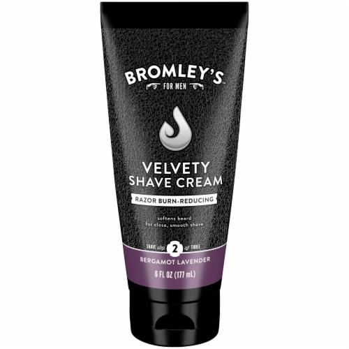 Bromley's™ For Men Bergamot Lavender Velvety Shave Cream Perspective: front
