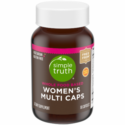 Simple Truth™ Women's Whole Food Based Multi Capsules Perspective: front