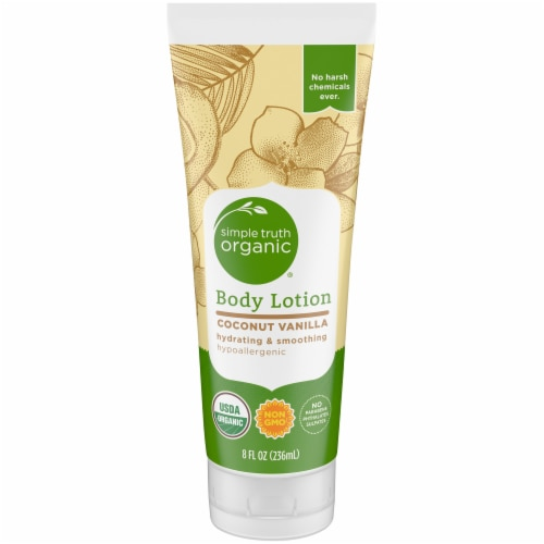 Simple Truth Organic™ Coconut Vanilla Body Lotion Perspective: front