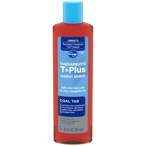 Kroger® Therapeutic T+Plus Coal Tar Dandruff Shampoo Perspective: front