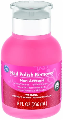 Kroger® Non-Acetone Nail Polish Remover Perspective: front