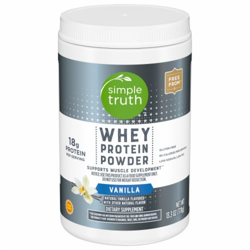 Simple Truth™ Vanilla Whey Protein Powder Perspective: front