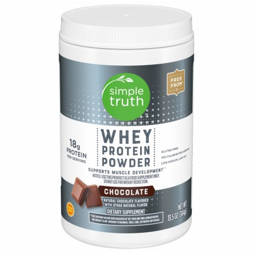 Simple Truth™ Chocolate Whey Protein Powder Perspective: front