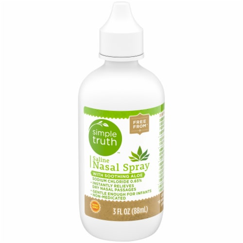 Simple Truth™ Saline Nasal Spray with Aloe Perspective: front