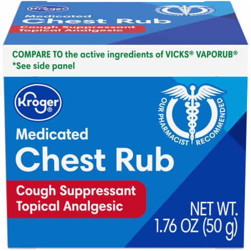 Kroger® Medicated Chest Rub Perspective: front