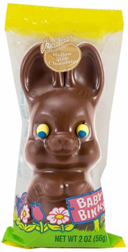 Palmer's Baby Binks Hollow Chocolate Bunny Perspective: front