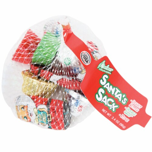 Palmer Santa's Sack Assorted Candy Perspective: front