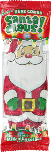 Palmer Classic Santa Claus Milk Chocolate Candy Perspective: front