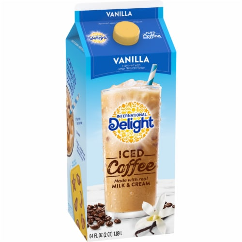 International Delight Vanilla Iced Coffee Perspective: front