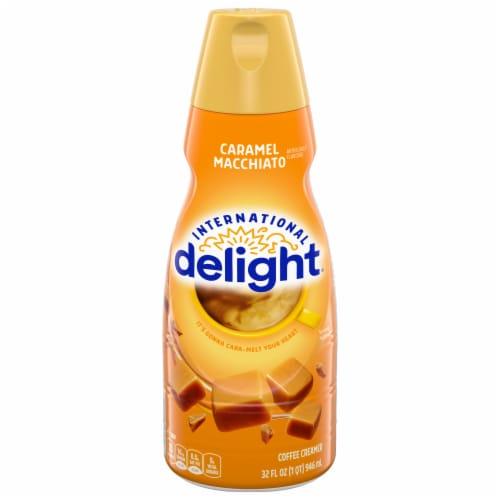 International Delight Caramel Macchiato Coffee Creamer Perspective: front