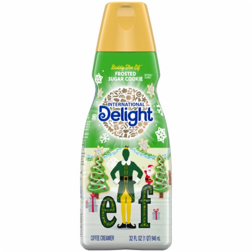 International Delight Frosted Sugar Cookie Coffee Creamer Perspective: front