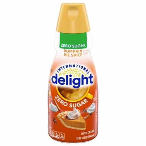 International Delight Sugar Free Pumpkin Pie Spice Coffee Creamer Perspective: front