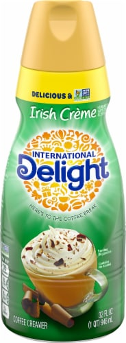 International Delight Irish Creme Coffee Creamer Perspective: front