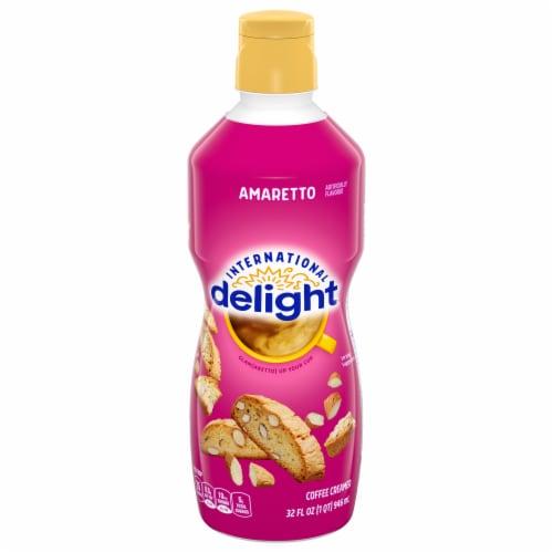 International Delight Amaretto Coffee Creamer Perspective: front