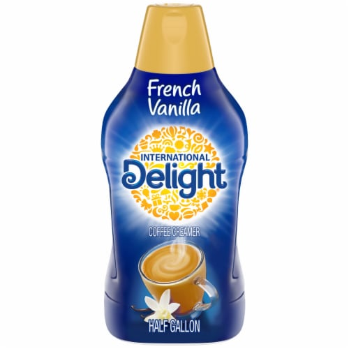 International Delight French Vanilla Coffee Creamer Perspective: front