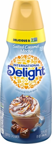 International Delight Salted Caramel Mocha Coffee Creamer Perspective: front