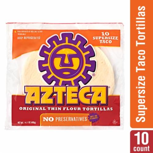 Azteca Flour Tortillas - 10 Count Perspective: front