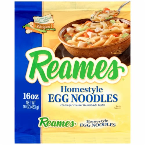 Reames Homestyle Egg Noodles Perspective: front