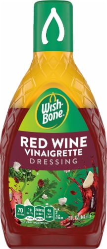 Wish-Bone Red Wine Vinaigrette Dressing Perspective: front