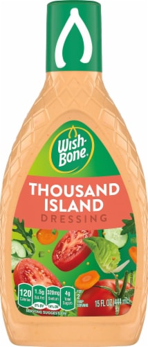 Wish-Bone Thousand Island Salad Dressing Perspective: front