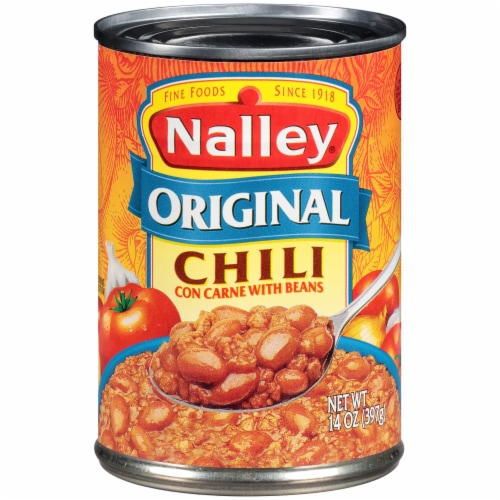 Nalley Original Chili Con Carne with Beans Perspective: front