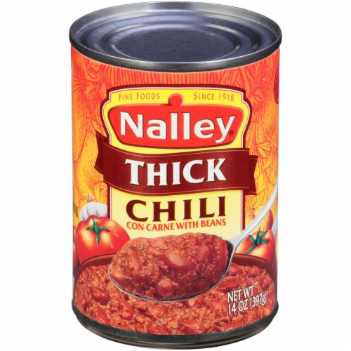 Nalley Thick Chili Con Carne with Beans Perspective: front