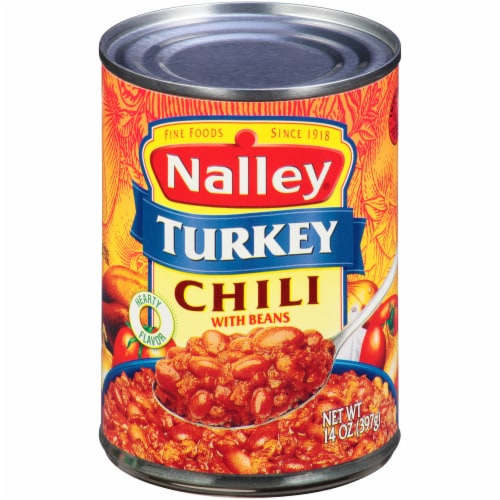 Nalley Turkey Chili with Beans Perspective: front