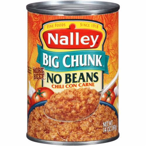 Nalley Big Chunk No Beans Chili con Carne Perspective: front