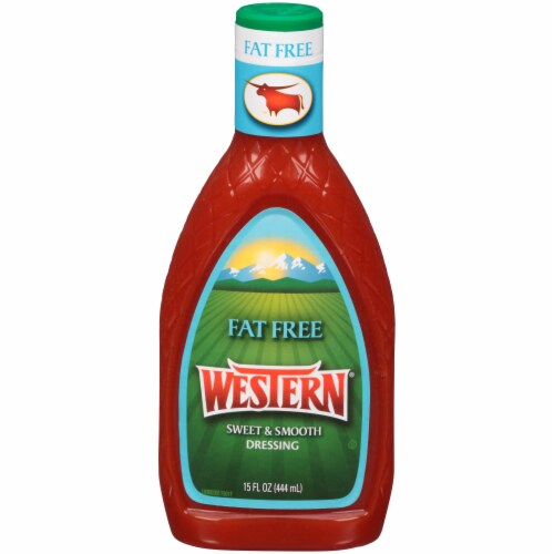 Western Fat Free Sweet & Smooth Dressing Perspective: front