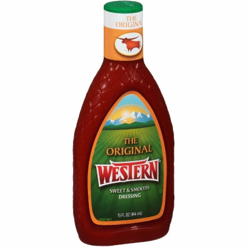 Western Original Sweet & Smooth French Dressing Perspective: front