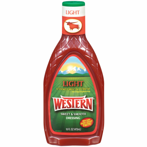 Western Light Sweet & Smooth French Dressing Perspective: front