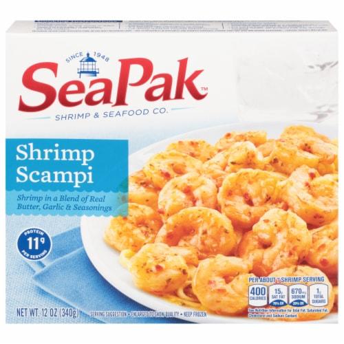 SeaPak Shrimp Scampi Perspective: front