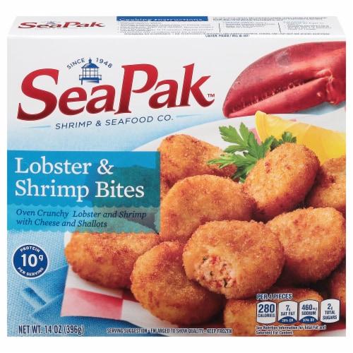 SeaPak Lobster & Shrimp Bites Perspective: front