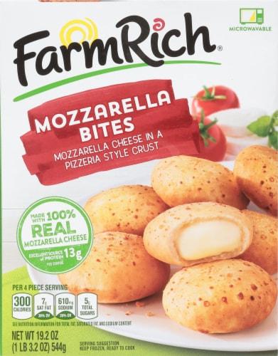 Farm Rich Mozzarella Bites Perspective: front