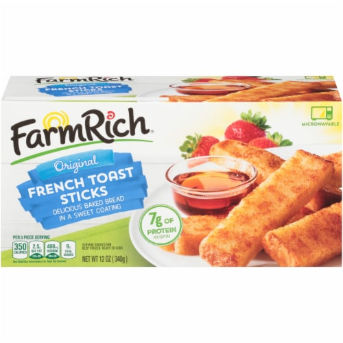 Farm Rich Original French Toast Sticks Perspective: front
