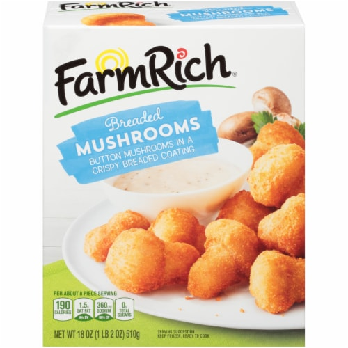 Farm Rich Breaded Mushrooms Perspective: front