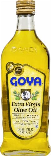 Goya Extra Virgin Olive Oil Perspective: front