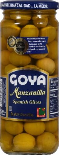Goya Manzanilla Spanish Olives Perspective: front